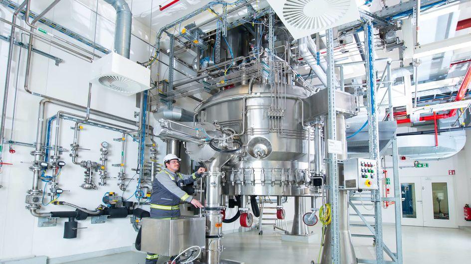 API drug manufacturing site in Dossenheim